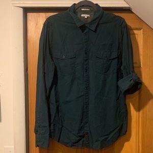 Calvin Klein Jeans Men's Button Down Shirt Sz L